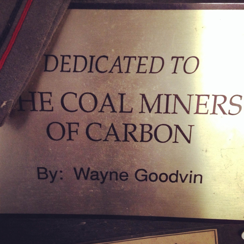 I had no idea a coal miners reunion was on my bucket list