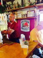The most popular spot in the brewery and possibly in all of Amana! The Millstream Brewing Co. in Amana, IA!