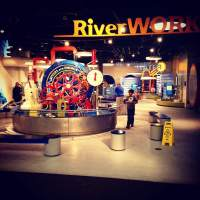 Full of time passing activities that will keep them entertained through the most chronic cases of prune hands. At the National Mississippi River Museum and Aquarium in Dubuque, IA.