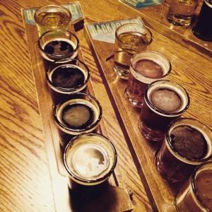 Take a couple flights at Backpocket Brewing. A true board of education. https://twitter.com/backpocketbrew