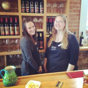 Wide River Winery trucks their wines down to LeClaire from just up the river in Clinton. Mersaydes and Emily work hard selling and sampling the Wide River wine to their loyal customers. Well done ladies! https://www.facebook.com/pages/Wide-River-Winery/112017943487