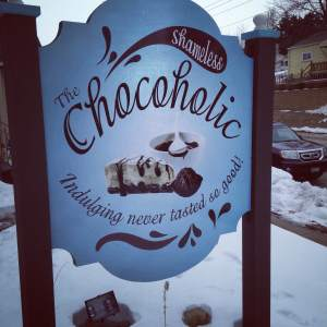 The name says it all. We've found our spot. Very little shame, if any, creeps up on us when we're traveling. Bring it on! https://www.facebook.com/TheShamelessChocoholic