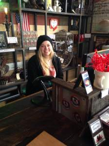 Antique Archaeology's faithful worker, Morgan, greeted Team Goodvin and helped us enjoy our visit. We enjoyed talking with all the workers of this great antique store. https://www.facebook.com/AntiqueArchaeologyLeClaire