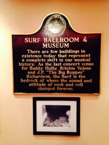 The importance of this site and day in history is laid out perfectly on this plaque. At the Surf Ballroom in Clear Lake, IA.