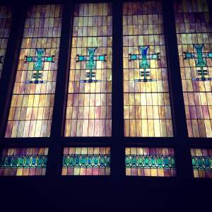 Some of the states best stained glass work is housed in the old Merchants National Bank Building.  1-800-700-1723
