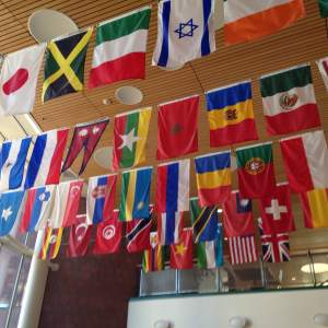 International represent the international students that attend Grinnell College. Home to over 1600 and many of them crossing the pond to get to here.