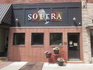 Solera had just turned a year old when we visited this great wine bar. Colleen is this proud owner and operator, of Solera and will be be pouring your drinks for year to come! https://www.facebook.com/pages/Solera/666879070037539