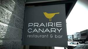 Right in the heart of of downtown Grinnell.  http://www.theprairiecanary.com/