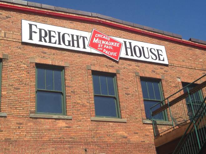 Davenport's Freight House. This has had many faces and tenets through its long history, and is currently in the middle of one of its greatest times. Please check out their farmers market if you're ever in the area on the weekend. We're talking prime time Midwestern fare! http://freighthousefarmersmarket.com/