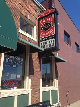 Tasty suds and delicious food awaits Team Goodvin at Front Street Brewery in Davenport, IA! http://frontstreetbrew.com/