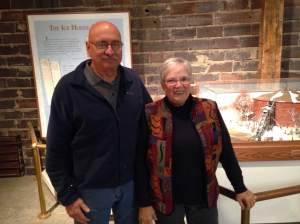 Steve and Kay Rewerts are two of the hardworking caretakers who volunteer their time for the Cedar Falls historical society. The museum opens in May, but they were nice enough to give us an exclusive tour of this Cedar Falls landmark.