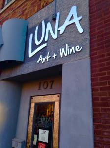 Luna provides an experience that's all their own. They were geared up for a busy night and made us feel like regulars. That's a Cedar Falls specialty by the way. https://www.facebook.com/LunaArtandWine?fref=ts