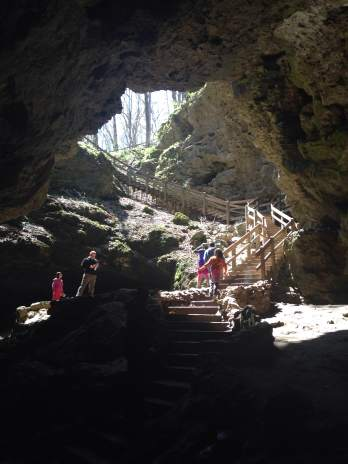 Maquoketa Caves provides one of Iowa's best photo opportunities.
