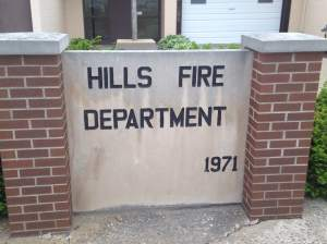 Today's Waterball festivities were hosted by the proud Hills, IA Fire Department. The Hills volunteers rolled our the welcome hoses, but they were also ready to defend their home turf!  https://www.facebook.com/hillsfiredept?fref=ts