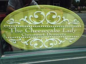 Time for a dose of a rich and sweet dairy product. Better make it two doses. It's going to be a long day. Fort Dodge brings us The Cheesecake Lady! http://stores.fdcheesecakelady.com/
