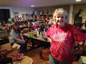 Take a look in the workshop and see Fort Dodge's happy elves hard at work. They made sure to tell us that they WILL be open for RAGBRAI and willing to ship out certain merchandise so you don't have to lug that John Boat cabinet with you clear to Davenport.