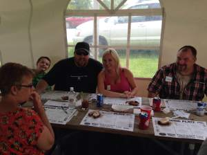 Meet the official judges of the Fort Dodge BBQ Battle. No rib was left upturned by these folks.