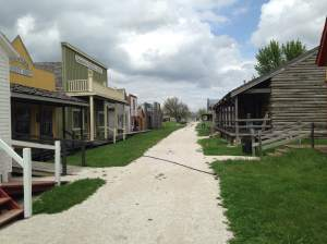 We hit the Frontier Town first while Kierra gave us an inch-by-inch description of this great Fort Dodge attraction. http://www.fortmuseum.com/