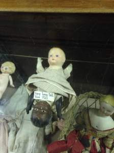 And you though Cardiff was creepy. The Fort Museum also has a collection of antique Topsy-Turvy Dolls. Sweet dreams.