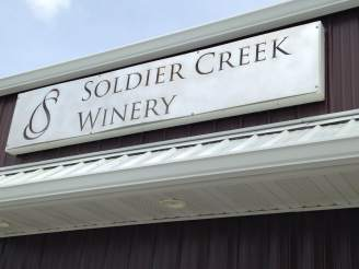 Just a short bike-ride from the RAGBRAI camps is Soldier Creek Winery. http://soldiercreekwinery.com/