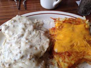 Here's the thrilling announcement..... The Iowa Gallivant will be picking it's finest plate of Biscuits and Gravy at the end of the year. Zakeer's and many other Iowa restaurants that we visit are officially in the running. Who wants it!?!