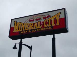 Just a short bike ride from all the campsites is this Fort Dodge original. Great menu and eager staff ready to make sure you have a great meal. http://www.mineralcitymillandgrill.com/