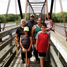 We took welcomed out of state visitors from Indiana, Arizona and family from Texas to join our gallivant. https://theiowagallivant.com/2015/06/02/village-hopping-part-1-of-2-chief-black-hawk-the-banks-of-bentonsport/