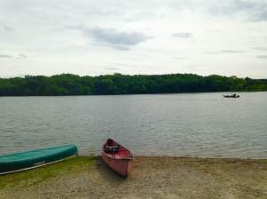 A beautiful forest meets lake, meets canoes meet Team Goodvin. Indian Lake Park near Farmington, IA. http://villagesofvanburen.com/directory.html?item=1433