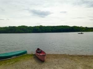 A beautiful forest meets lake, meets canoes meet Team Goodvin. Indian Lake Park near Farmington, IA. http://villagesofvanburen.com/directory.html?item=1433