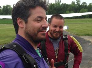 While you're at the job working nine to five...The Frerich boys are at Skydive Iowa kick'n it LIVE!