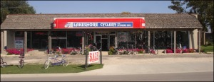 Right across the street from Kings Pinye is local bike shop. https://www.facebook.com/lakeshore.cyclery?fref=ts