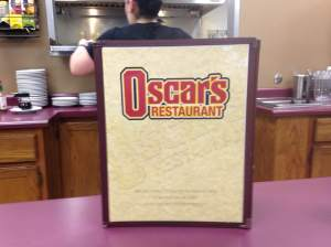 Not too far from anything in Hiawatha. Oscar's Restaurant was slamming during our visit and is sure to be providing hot breakfast and quick service for RAGBRAI. http://www.oscarsfamilydining.com/