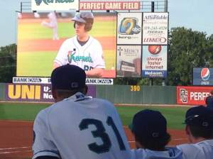 All eyes on the scoreboard! Jon Jon's life with the Kernels in pictures and classic videos.