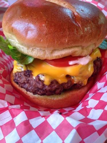 Thee Baxa Burger at Baxa's in Sutliff. https://www.facebook.com/Baxas-Sutliff-Store-And-Tavern-266121951280/?ref=ts&fref=ts