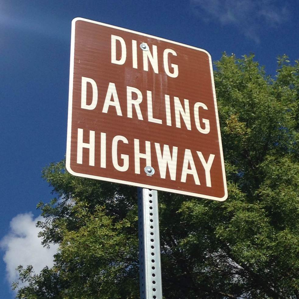 Team Goodvin heads down scenic HWY 78 and takes a lake hike. http://chamber.washingtoniowa.org/worthbraggingabout/2014/9/8/the-first-signs-are-up-ding-darling-highway.html