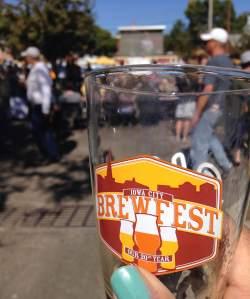 It's Oktoberfest in Iowa City's historic Nothside neighborhood! Beer, football, street food and sunshine. No petting zoo, though.