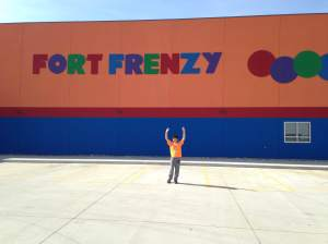 Let the invasion begin! Charlie and the old man take on Fort Frenzy! http://www.fortfrenzy.com/home https://www.facebook.com/Fort-Frenzy-626426637386351/timeline/
