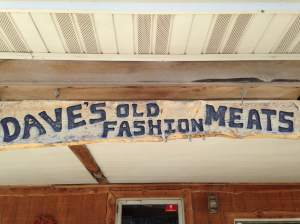 Right off of the main drag and ready to make your next meal amazing is Dave's Old Fashion Meats. 111 North 1st Street