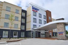 Located at 2134 La Porte Rd is the brand spank'n new Fairfield Inn Suites. Nestled right next to Cross Roads Mall, big box retailers and tons of restaurants.