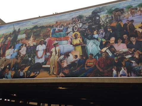 One of Iowa's best public murals can be easily found in the heart of downtown Waterloo.