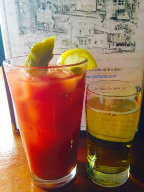 The Bloody Mary at the Hilltop Tavern in Iowa City