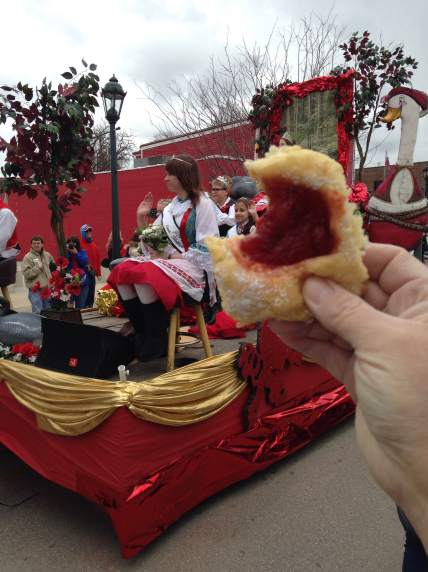 A salute to you Czech Village! Dessert came first on St. Joe's day. That's my tradition.