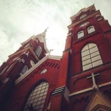Basilica of Saint Francis Xavier in Dyersville, IA.