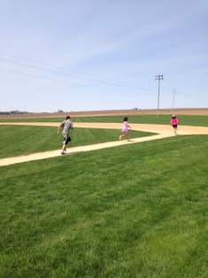 No fee at all. Just bring your imagination and play as long as you want at Field of Dreams.