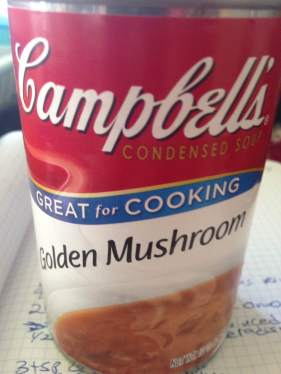 1 can can Campbell's Golden Mushroom Soup