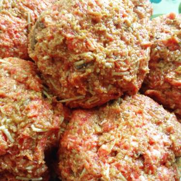 6 Salisbury Steak balls