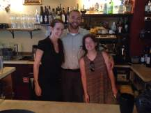 Some of the amazing crew helping us out. Laina, Micky, and Sara. Great work, everyone!