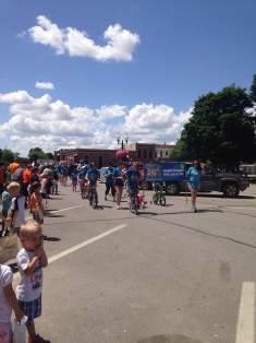 Soon to be a parade of endless bikes swarming Washington's historic downtown.