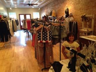 The summer apparel is in full bloom at JWren in Glenwood, Iowa.