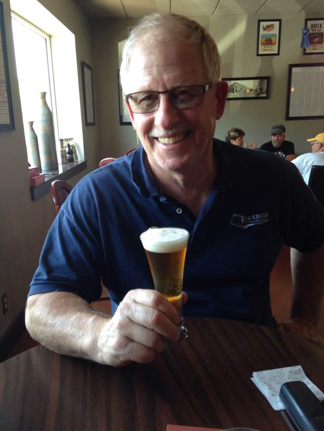 Randy Romens is the proud owner of Keg Creek Brewery, fellow beer lover, and friend to RAGBRAI..